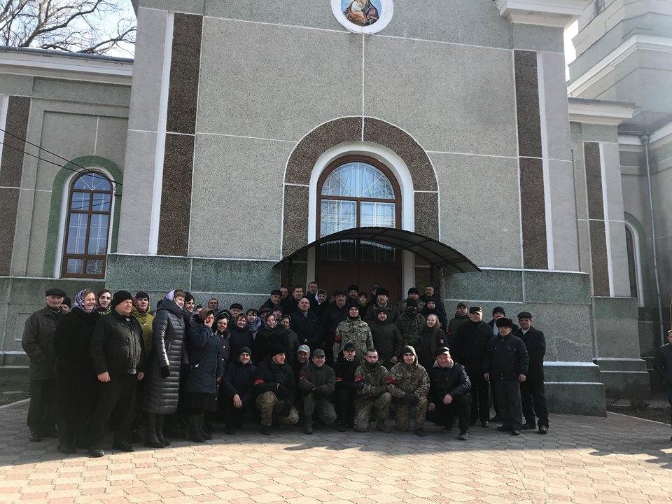 УПЦ МП заявила про захоплення храму на Тернопільщині «Правим сектором» та прихожанами ПЦУ