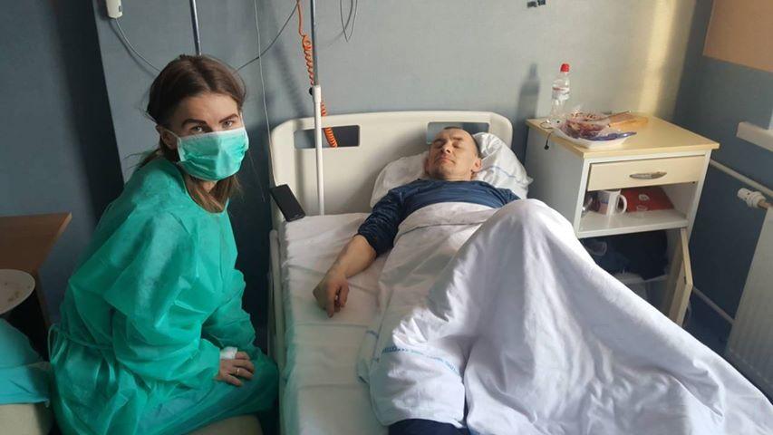 Волинянину, який лікується від раку у Варшаві, потрібна допомога