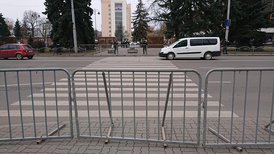 У поліції пояснили, чому перекрили центр Луцька