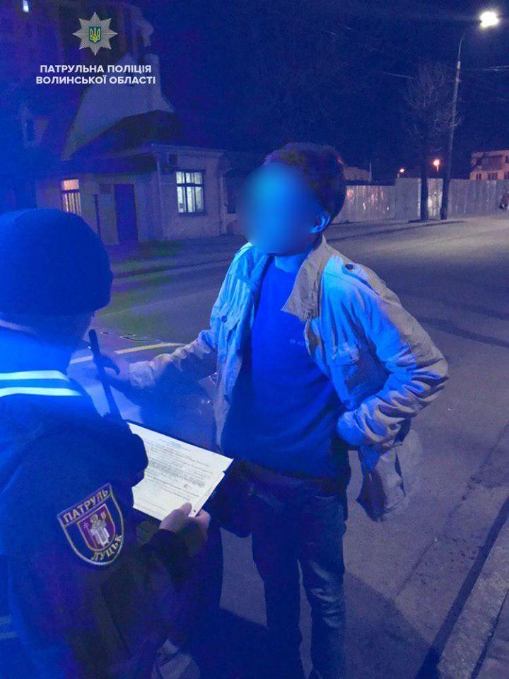 Луцькі патрульні затримали п'яного водія