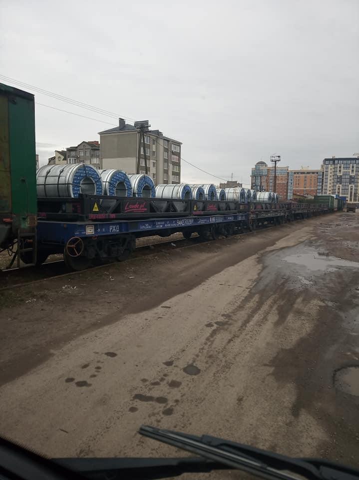 У Луцьку зафіксували вагони з Росії. ФОТО
