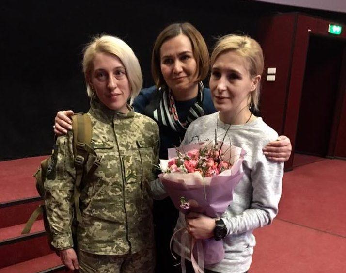 У Луцьку презентували фільм про жінок-добровольців на війні. ФОТО