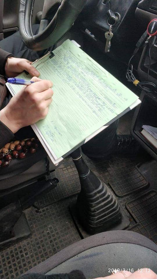 За вихідні у Луцьку покарали 22 «автохами». ФОТО