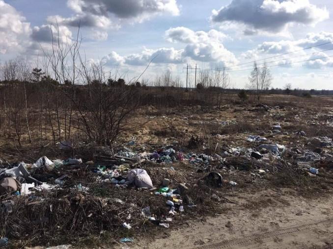 На Маневиччині за останній тиждень в лісах ліквідували три сміттєзвалища. ФОТО