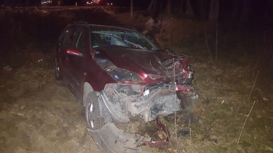На Волині зіткнулись дві автівки, четверо постраждалих. ФОТО