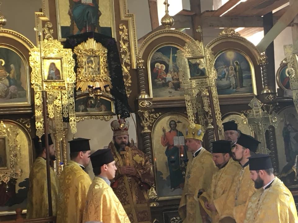 У селі поблизу Луцька, яке пішло до ПЦУ, провів богослужіння митрополит Михаїл. ВІДЕО