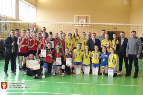 У Луцьку кращі волейболістки змагалися на міжнародному турнірі