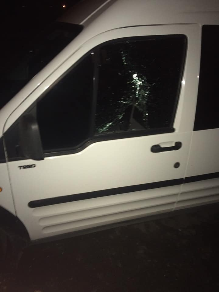 Лучанину побили авто, шукають свідків. ФОТО