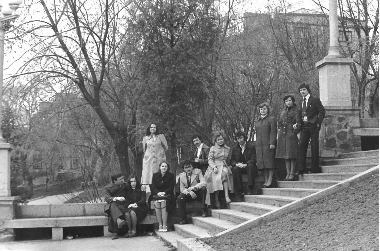Луцьк 1970-их років на атмосферних світлинах випускників історичного факультету