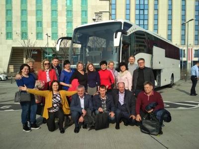 Делегація волинських ОТГ вирушила на навчання до Словенії