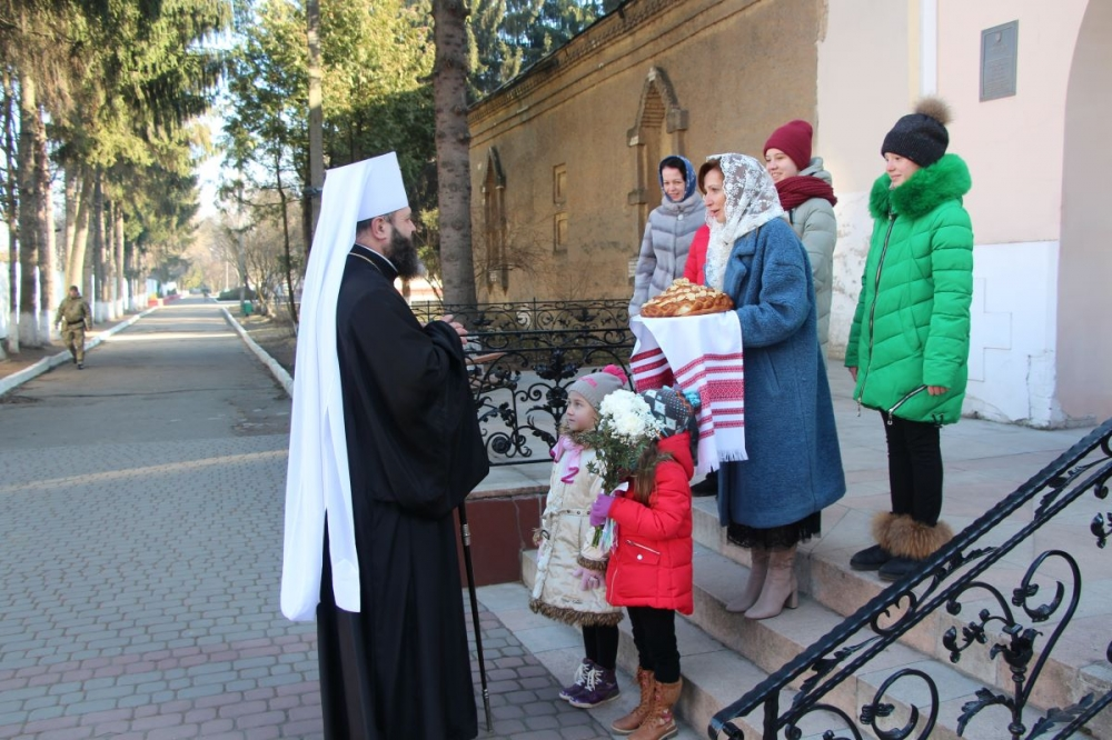 Канцлер Волинської єпархії ПЦУ відзначив 50-річчя