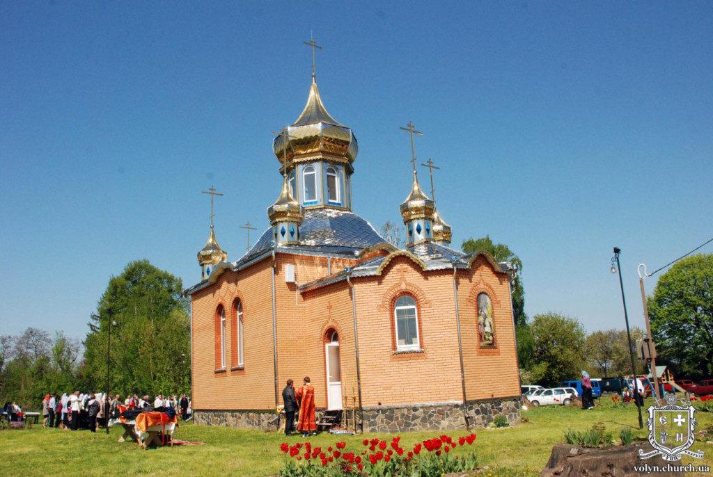 Московський Патріархат судиться через церкву у волинському селі