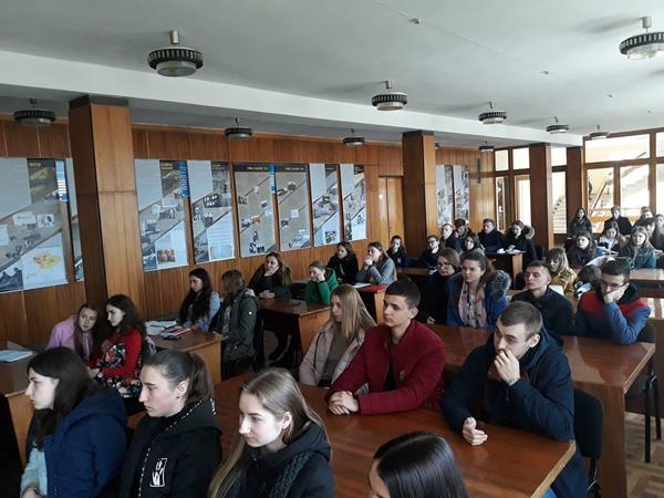 У Лесиному виші говорили про історичні клуби Луцька. ФОТО
