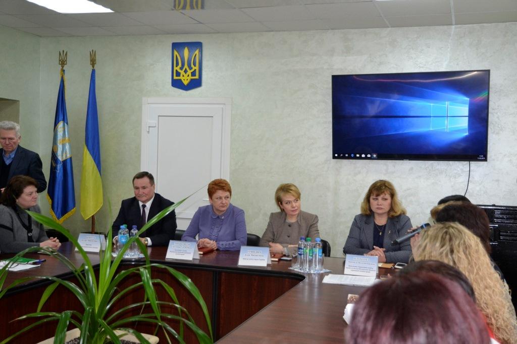 У Луцьку побувала міністр освіти і науки України. ФОТО