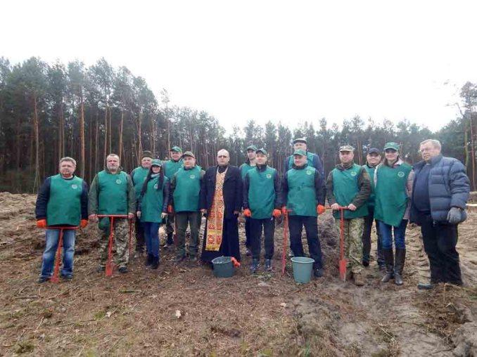 Як у волинському держлісгоспі розпочинали лісокультурну кампанію. ФОТО