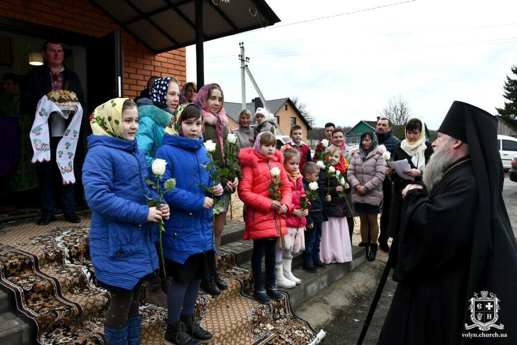 Поблизу Луцька відкрили храм Московського Патріархату. ФОТО