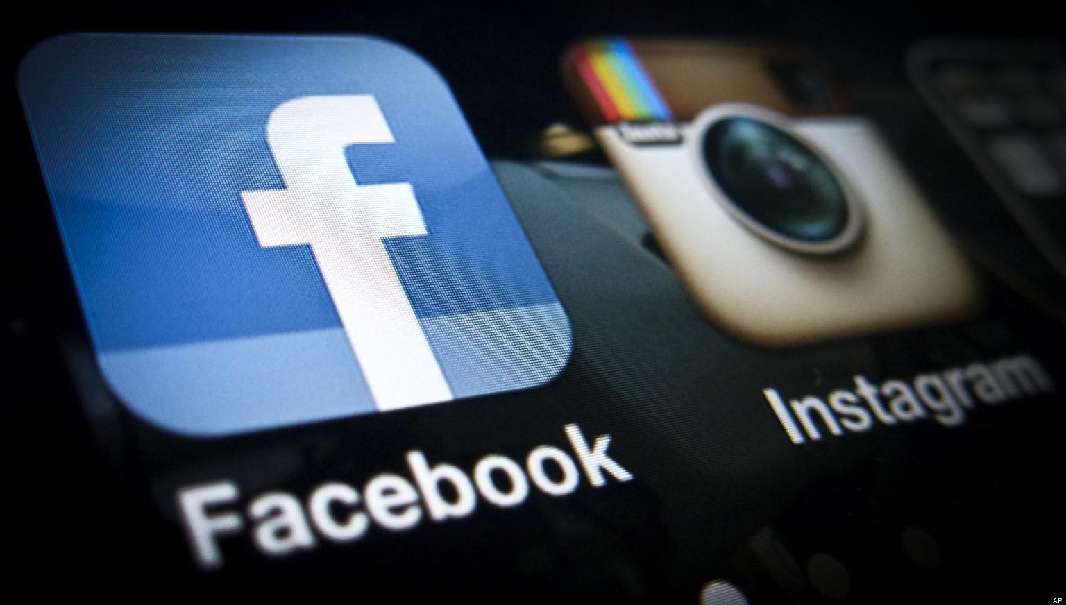 У роботі «Facebook» та «Instagram» стався збій