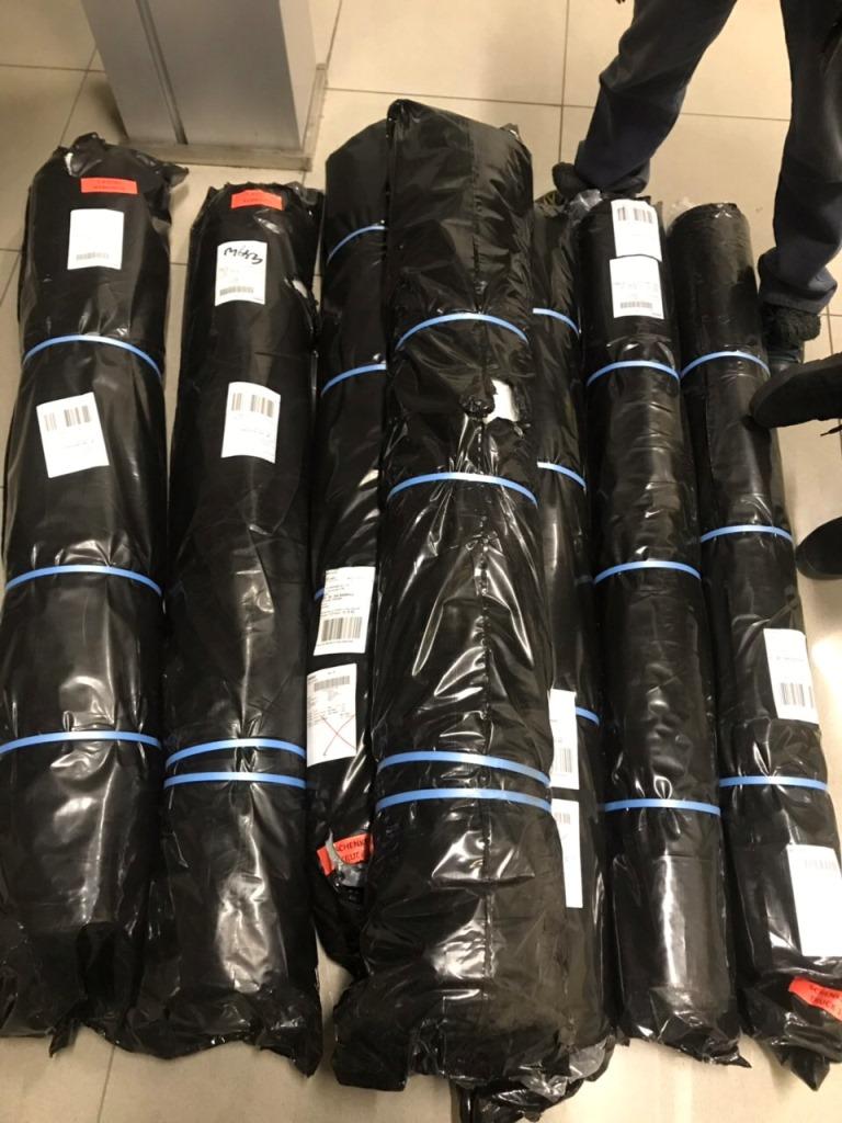 Через «Ягодин» хотіли незаконно перевезти тканину майже на 180 тисяч гривень