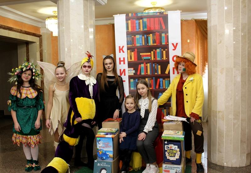 У Луцьку розпочався тиждень Всеукраїнського дитячого читання. ФОТО