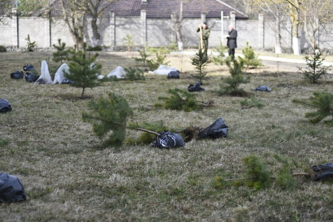 Біля лікарні у Боголюбах створили парк для реабілітації українських воїнів. ФОТО