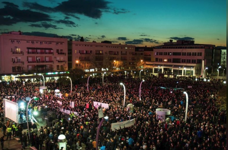 У Чорногорії відбулися багатотисячні антипрезидентські протести