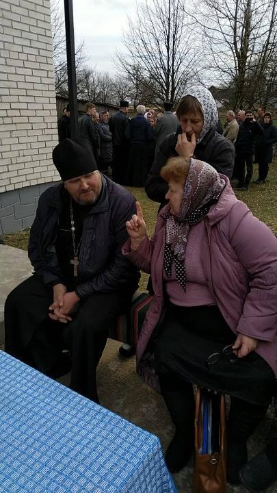 Прихильники МП у волинському селі: «Ми молимося навіть за Путіна, щоб він від нас відступив»