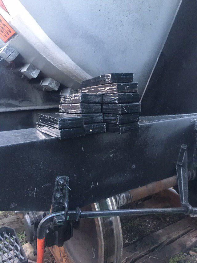 На «Ягодині» виявили контрабандні сигарети. ФОТО