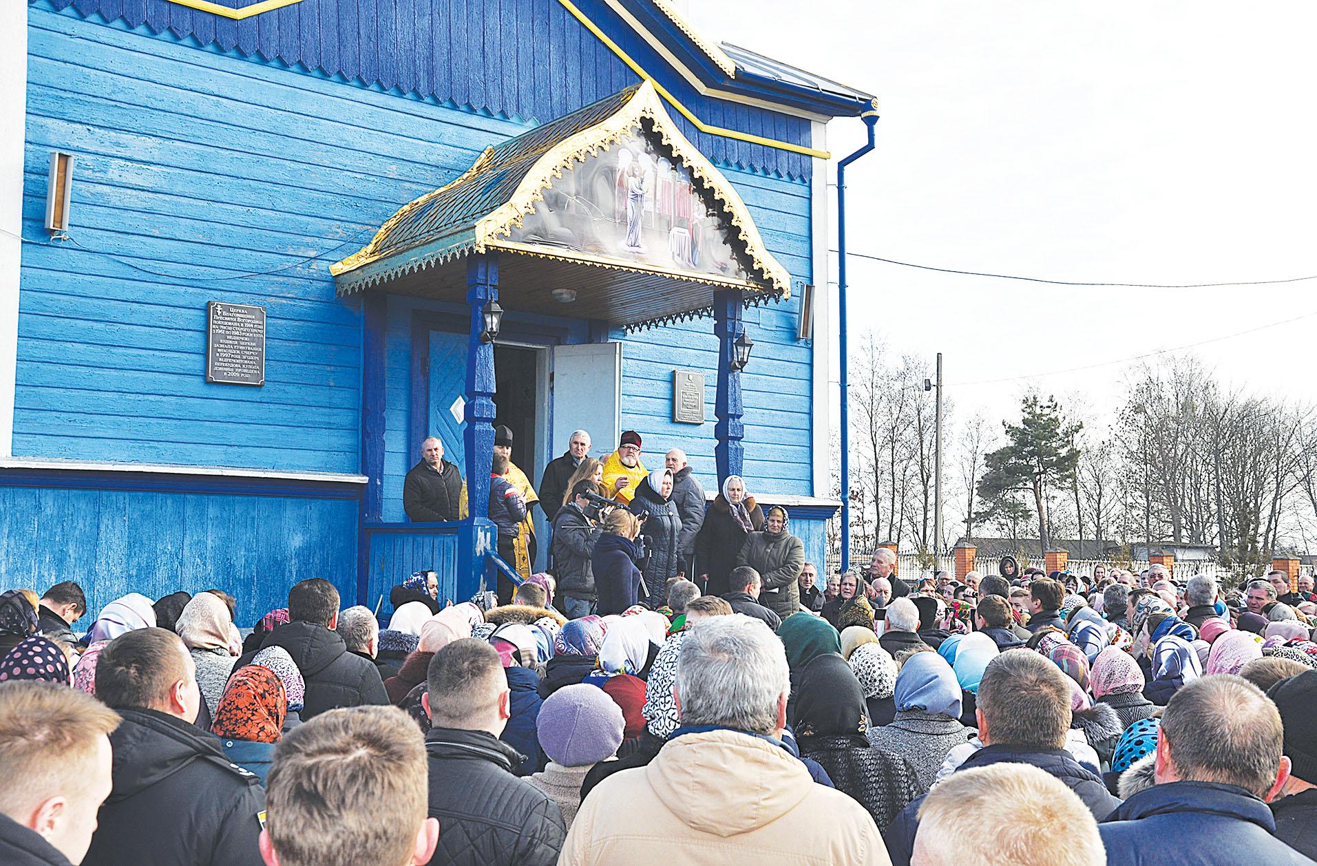 Суд розгляне скаргу волинського священика УПЦ МП на рішення сільради опечатати храм і передати ключі сільському голові