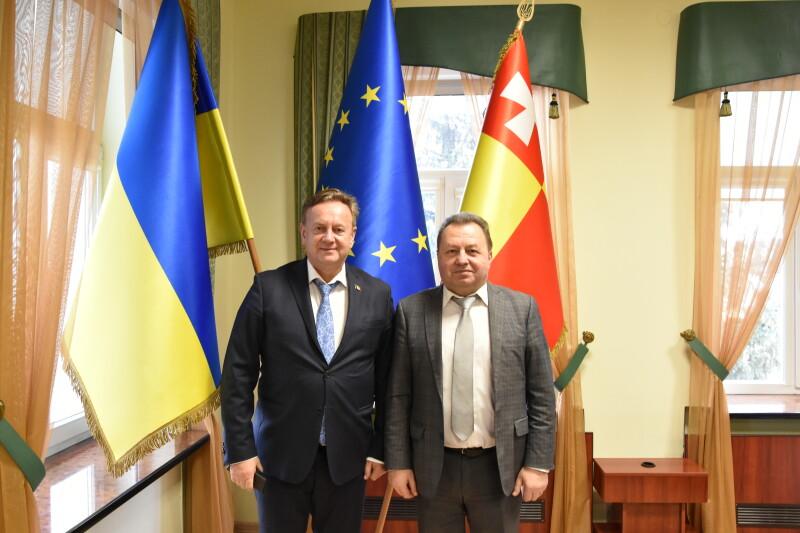 Луцьк відвідав консул Короля Бельгії у Західному регіоні України. ФОТО