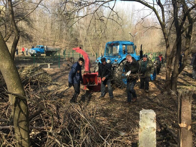 На річках в місті Луцьку провели толоку. ФОТО
