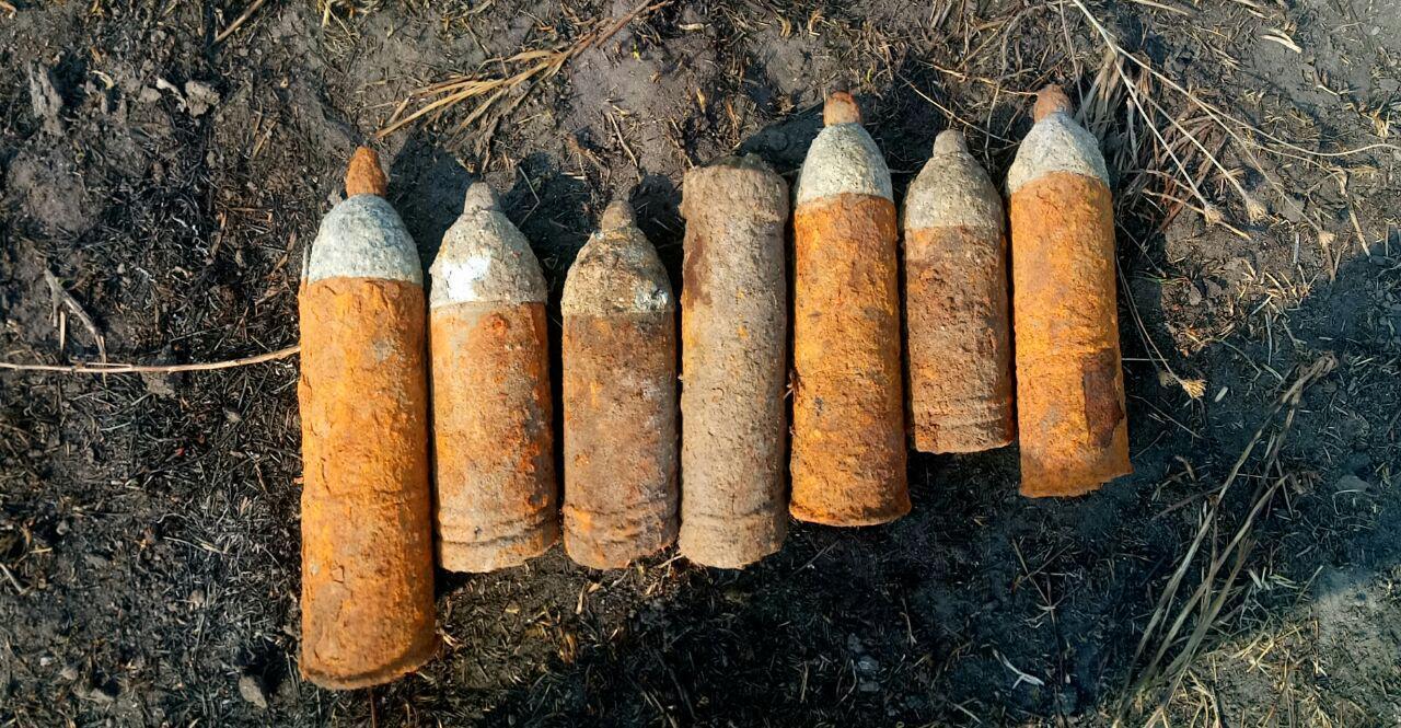На Волині знешкодили 22 боєприпаса часів минулої війни