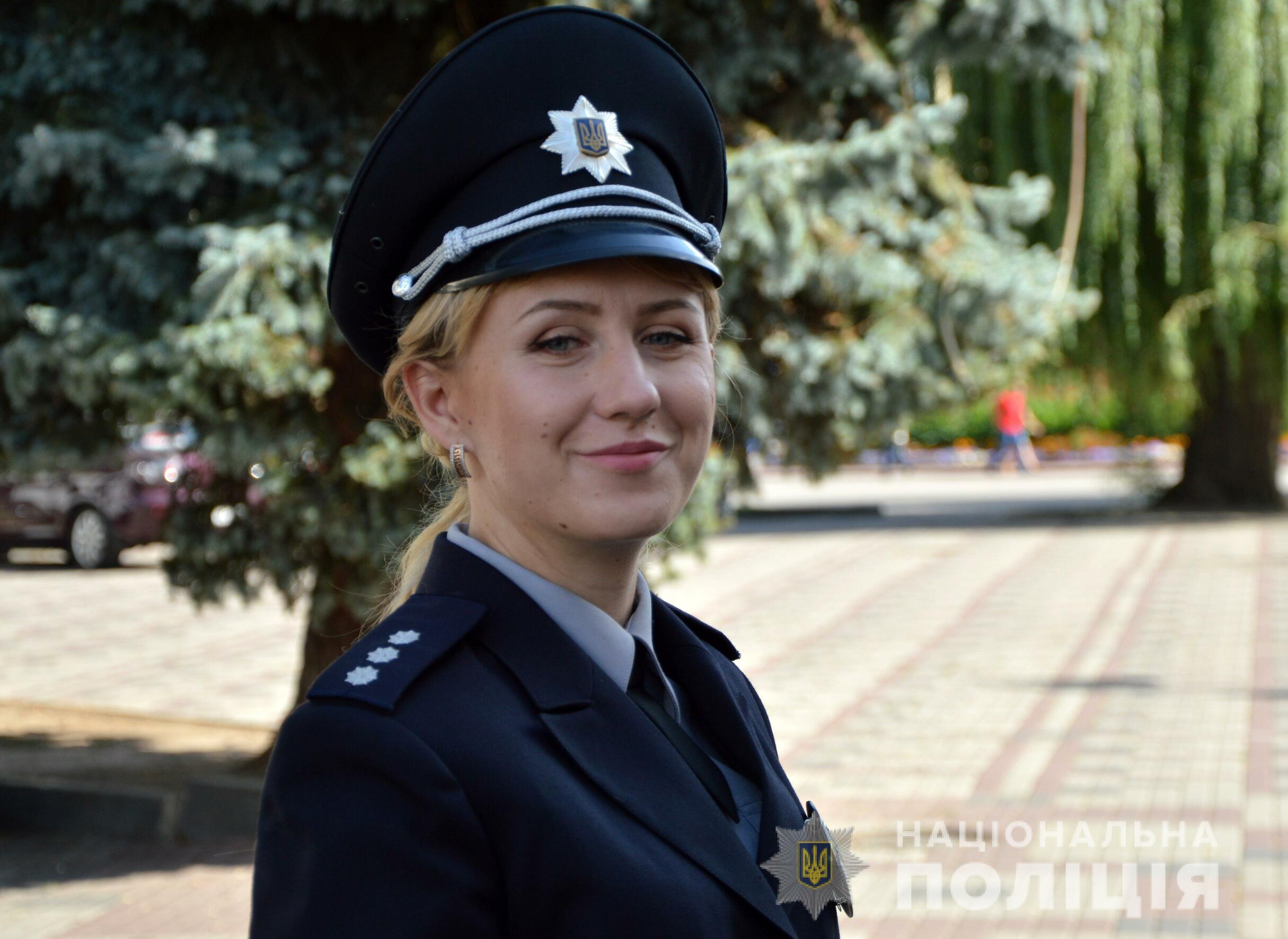Волинська поліцейська стала однією з героїнь кампанії з популяризації служби в поліції