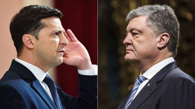 Зеленський кличе Порошенка на дебати на НСК «Олімпійський»