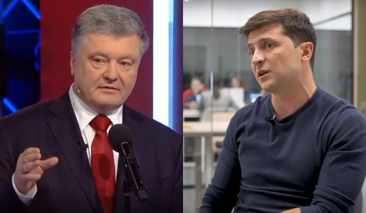 Порошенко і Зеленський підписали угоду про дебати
