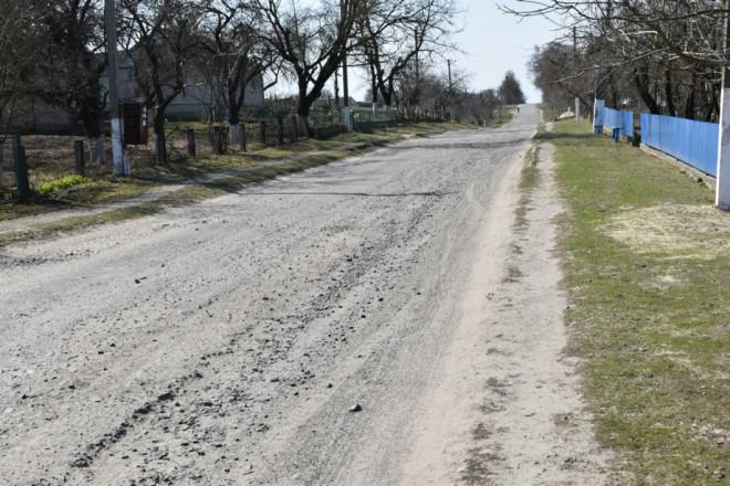 У селі на Волині цьогоріч відремонтують дорогу