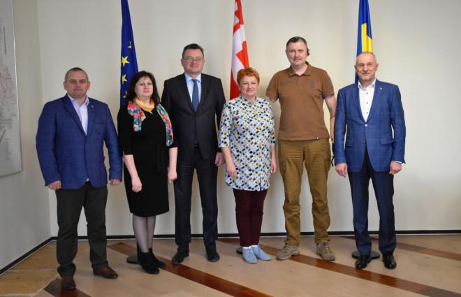 Волинь співпрацюватиме з Міністерством у справах ветеранів України