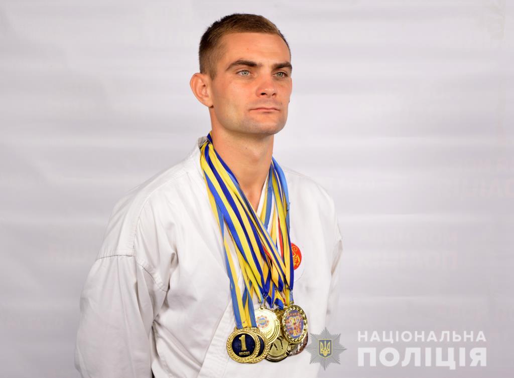 Волинський поліцейський – багаторазовий чемпіон України з карате