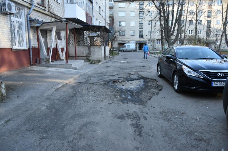 У Луцьку незабаром оновлять вигляд дворів на двох вулицях. ФОТО