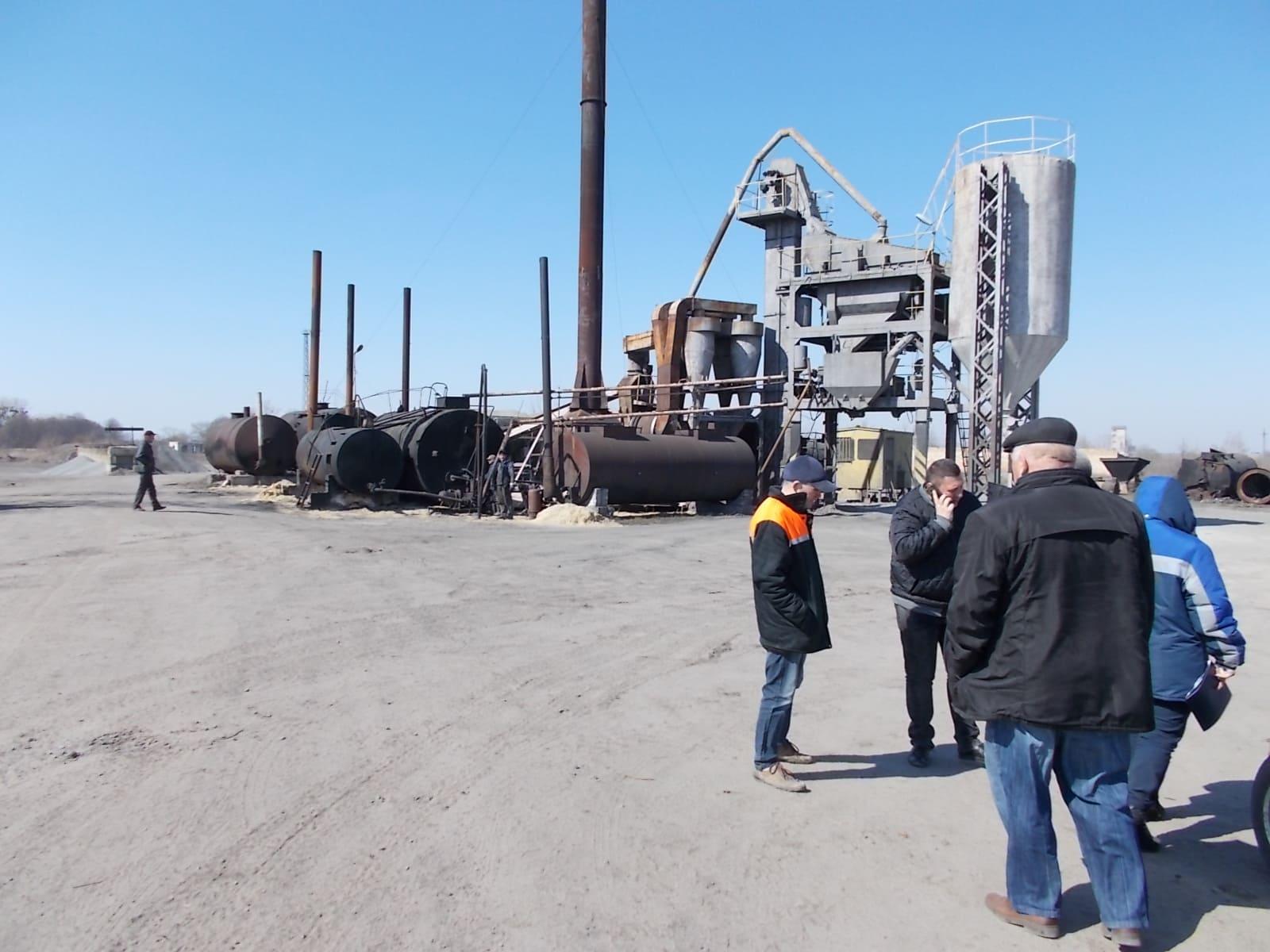 На Волині запрацював ще один асфальтобетонний завод. ФОТО