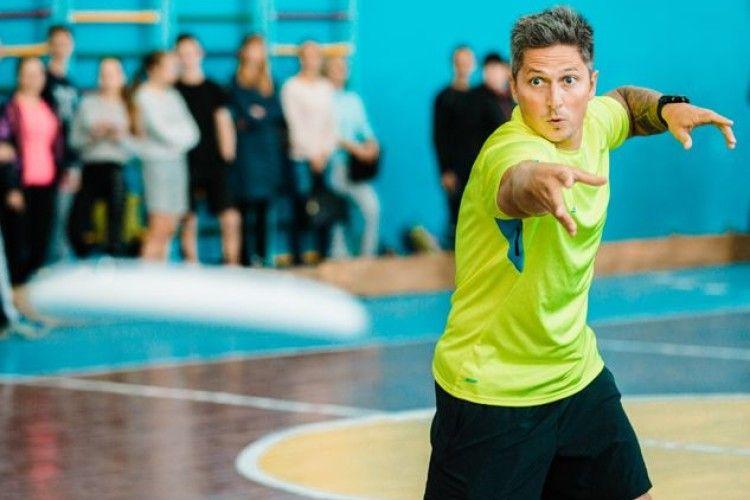 Олександр Педан вчитиме волинських школярів новим видам спорту