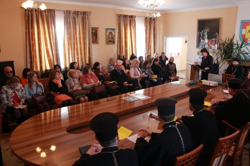 Волинським учителям історії розповіли про Томос. ФОТО