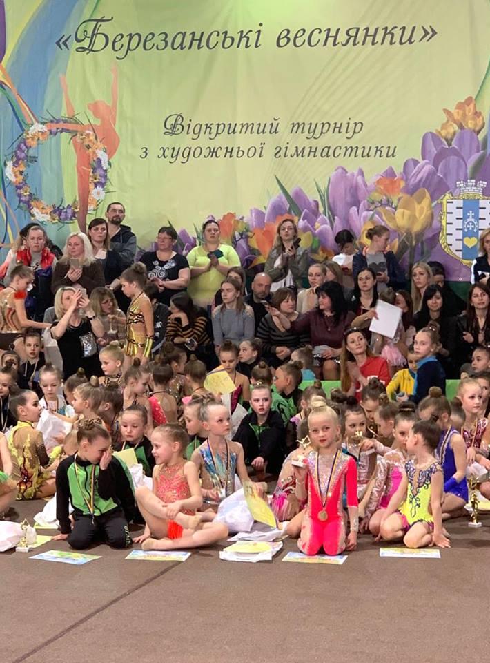 Гімнастки з Луцька привезли нагороди зі змагань. ФОТО