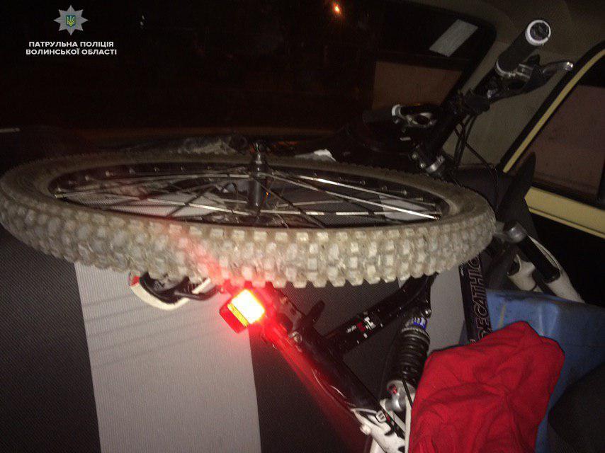У Луцьку виявили авто з викраденими речами. ФОТО