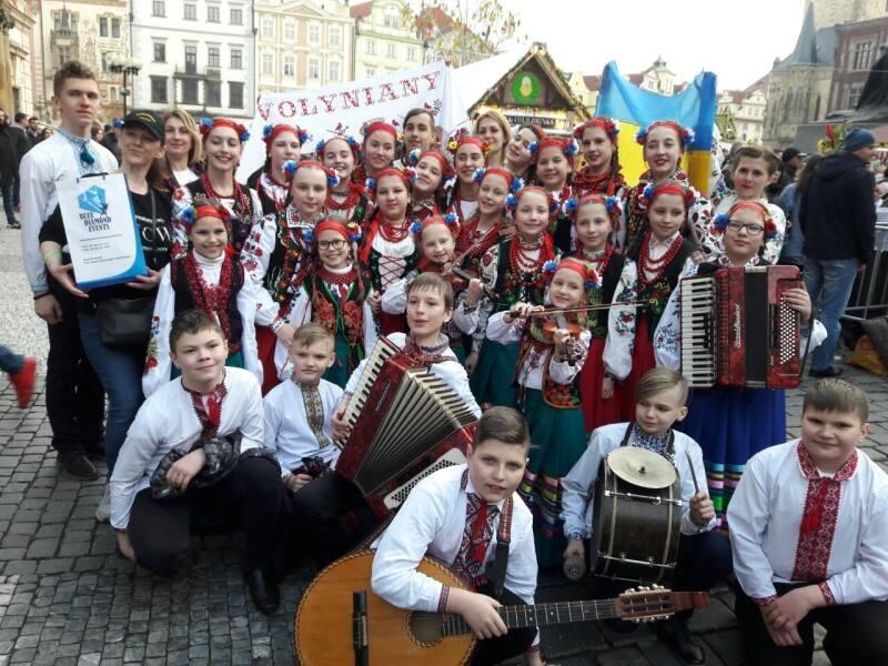 «Волиняни» презентували національну культуру у Празі. ФОТО