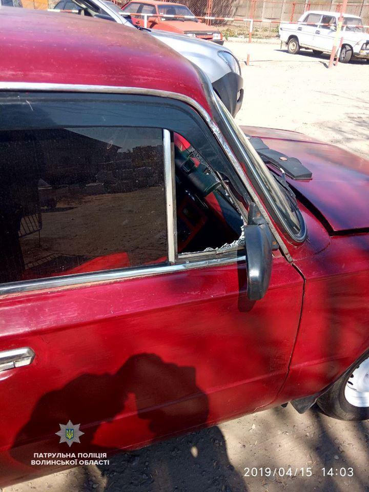 У Луцьку п'яний водій пошкодив паркан і втік