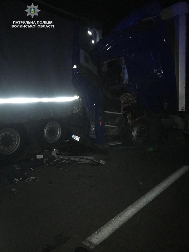 Вночі на Волині трапились дві автопригоди