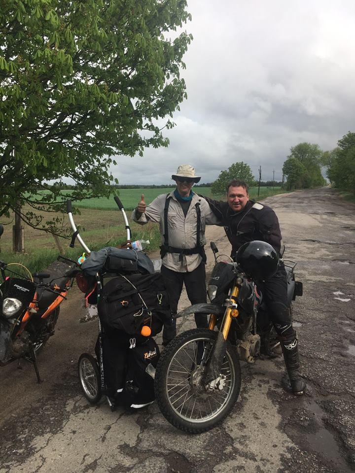 Голландський мандрівник подорожує містами Волині. ФОТО