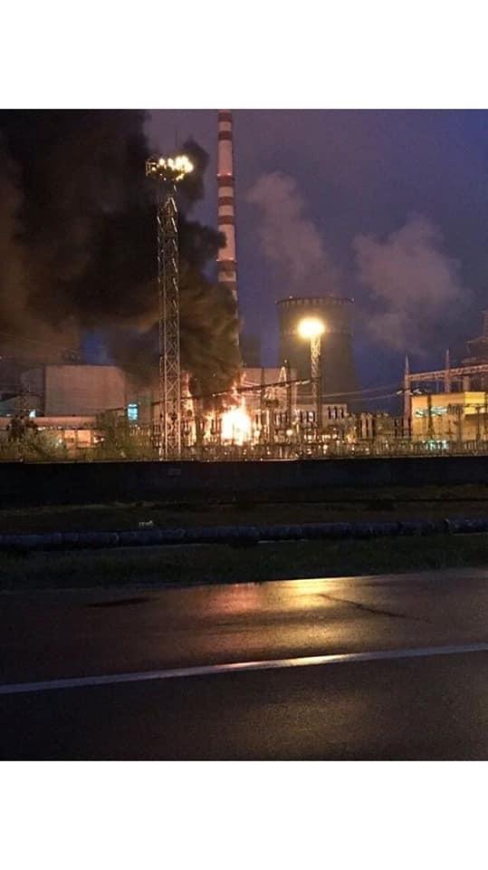 Через пожежу відключився третій енергоблок Рівненської АЕС