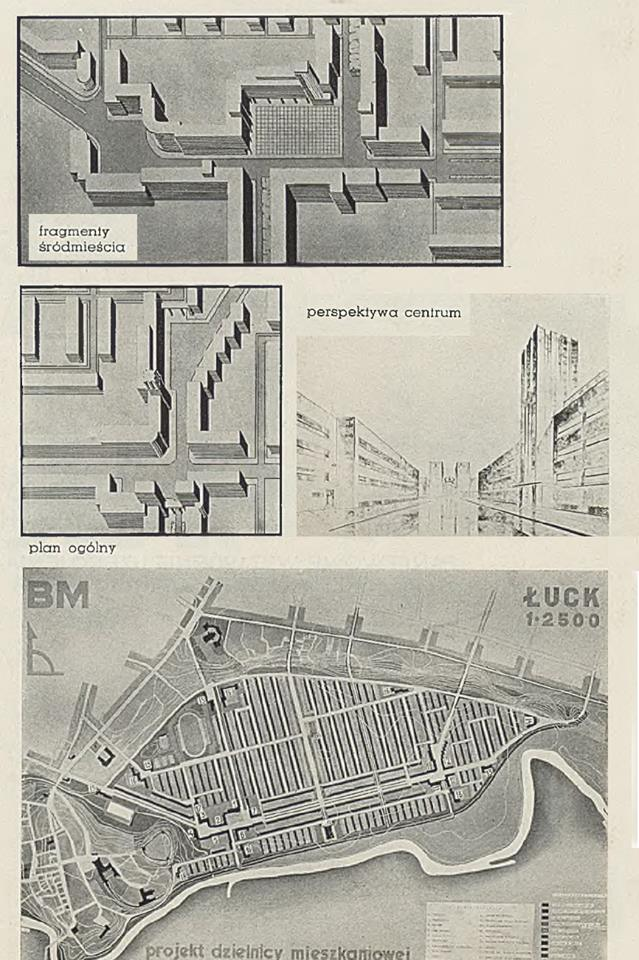 У мережі виклали ретро-фото плану забудови міського району у Луцьку 1930 року