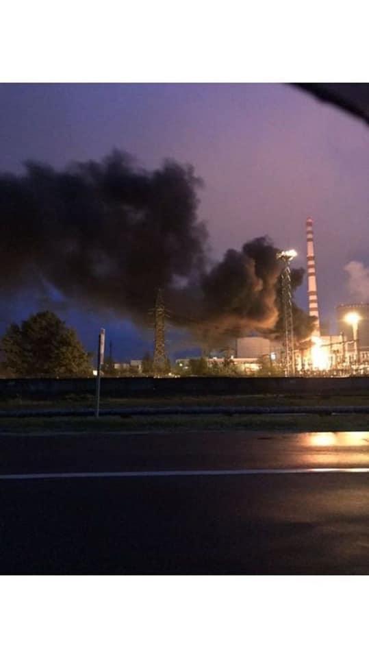 На Рівненській АЕС — пожежа. ВІДЕО